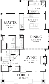 bungalow style house plan 3 beds 2 50 baths 1777 sq ft plan 48