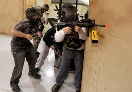 Airsoft Backyard War Airsoft Bb Guns Designed To Be A Gentler Shot Nj Com
