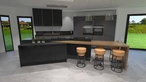 cuisine grise anthracite cuisine gris anthracite bois et cuivre 2017 et cuisine grise