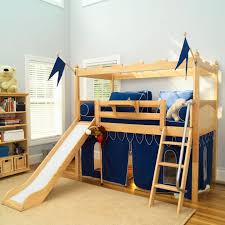wooden bunk bed for kids bedroom and fantasy playground huz name