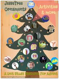 jesse tree ornaments a unit study resource for advent