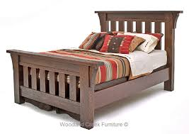 Oak Bed Rustic Oak Bedroom Furniture