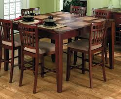 high dining room table and chairs scenic 8 chair dining table set room awesome foot kitchen chairs