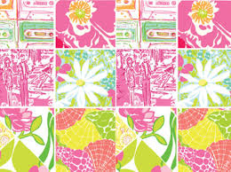 dorm design inspired by lilly pulitzer college fashion
