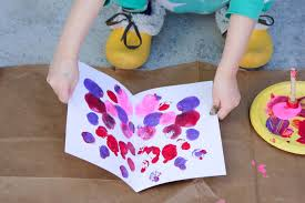 butterfly spring art project for kids free template
