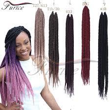 medium size packaged pre twisted hair for crochet braids aliexpress com buy box braids hair crochet 24 18 crochet