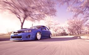 subaru wrc wallpaper landscapes cherry blossoms cars sunlight subaru impreza wrc