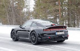 porsche car 911 2019 porsche 911 reveals its form but keeps its secrets