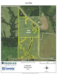 Iowa Road Conditions Map 737 Acres Southern Iowa Land Auction