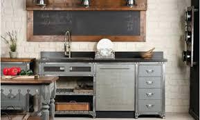 meuble cuisine industriel inspirational meuble de cuisine industriel
