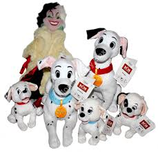 101 dalmatians rolly plush