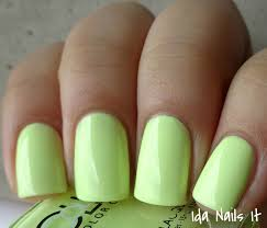 ida nails it color club poptastic pastel neon collection