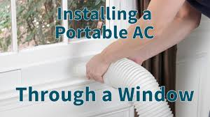 How To Install Portable Air Conditioner In Awning Window How To Vent A Portable Air Conditioner Sylvane
