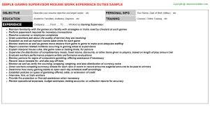 Warehouse Supervisor Resume Sample Essay Website Citation Mla How To Write An Objective For A Resume