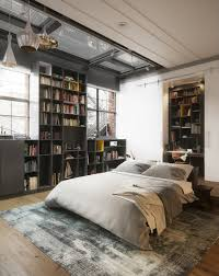 loft style bed bringing new york loft style into the bedroom lofts bedrooms