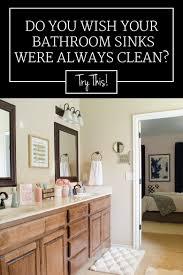 three habits for maintaining a clean bathroom sink u0026 vanity