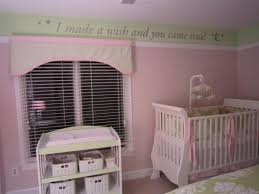 Pink And Green Nursery Decor I Made A Wish And You Came True Best Baby Decor