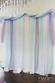 tulle backdrop let us eat cake princess party party backdrops princess party