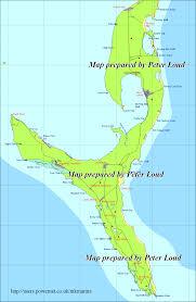 Map Bahamas Map Of South Eleuthera The Bahamas Peter Loud
