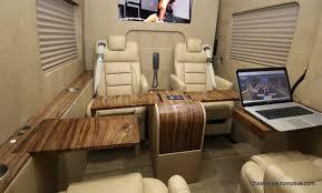 Conversion Van Accessories Interior Luxury Custom Mercedes Benz Sprinter Vans By Chalmers Automotive