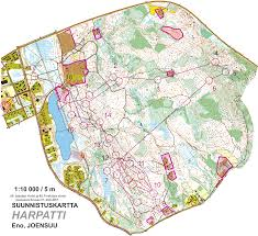 Java World Map by Jukolan Viesti 4 Osuus June 17th 2017 Orienteering Map From