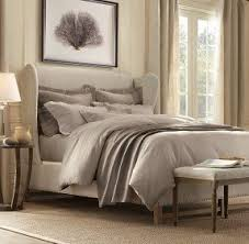 Upholstered Bed Frame Cole California by Wingback Bed Frame Foter