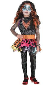 Lagoona Blue Halloween Costume Girls Monster Clawdeen Wolf Costume Party