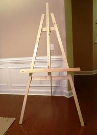 Easel Floor L Lazy Liz On Less Build A Cheap And Easy Artist Easel