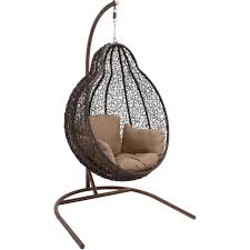 wicker pod swing chair wayfair hi home pinterest swing