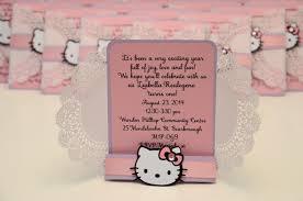 Hello Kitty Invitation Cards Jingvitations Silhouette Cameo