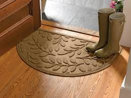 Design Ideas For Half Circle Rugs Half Door Mats Outside Designs