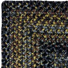 Black Outdoor Rugs by Black Forest Braided Rug An Ultra Durable Outdoor Rug