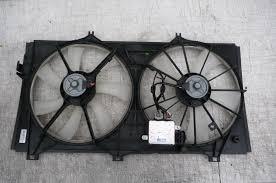 lexus es 350 radiator lexus toyota es350 cooling fan assembly 12v denso aa422750 0372