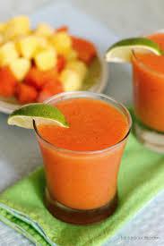 mango margarita recipe belle vie tropical papaya margarita belle vie