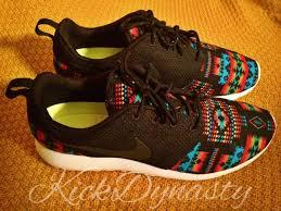 rosch runs 15 sale tribal aztec nike roshe run custom sneakers