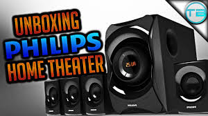philips home theater unboxing philips 12000 hometheater speaker hands on review youtube