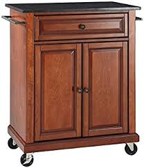 amazon com crosley furniture alexandria cuisine kitchen island