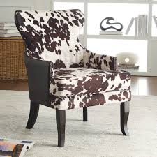 angus ii accent chair in brown accent chairs accent seating