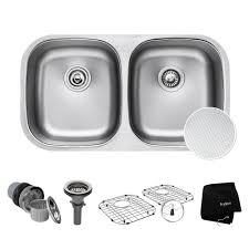 where are kraus sinks made kraus outlast microshield undermount stainless steel 32 in 50 50