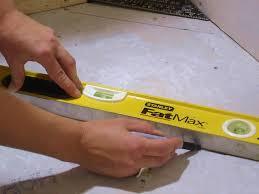 Lay Floor Tiles How To Install Diagonal Floor Tile How Tos Diy
