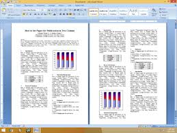 scientific paper writing software how to set two column paper for publication youtube
