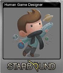 Trading Card Designer Starbound Human Game Designer Steam Trading Cards Wiki