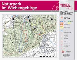 Stadtplan Bad Oeynhausen Radrouten Wanderwege Stadt Lübbecke