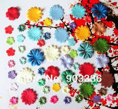 aliexpress com buy craft paper flowers for scrapbooking paper