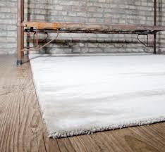 Schlafzimmer Teppich Taupe Webteppich Dicht Flauschig Handgewebt Beige Creme