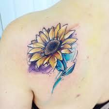 yellow flower tattoos gira ab tatuaje yellow amarillo flor tattoo natural flowers