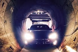 tunnel here u0027s a tesla inside elon musk u0027s la tunnel the verge