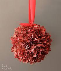 Handmade Fabric Crafts - handmade fabric ornament hometalk