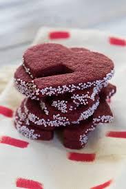 best 25 red velvet shortbread cookies ideas on pinterest