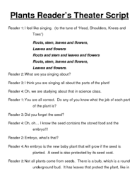 plants reader s theater script by beverly tpt